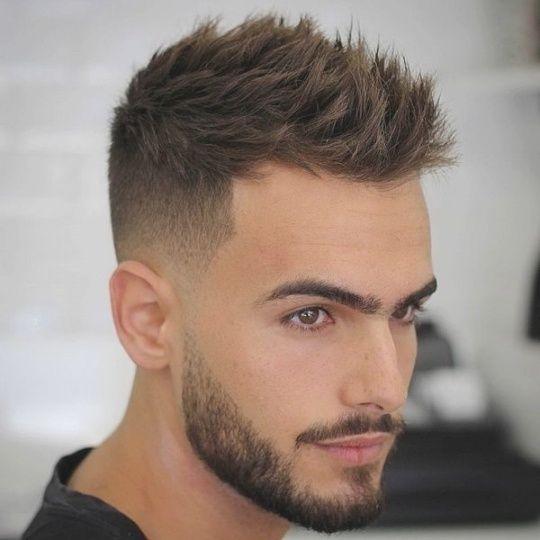 Frisur Ohne Übergang | Frisuren | Kurze haare stylen, Männer ...