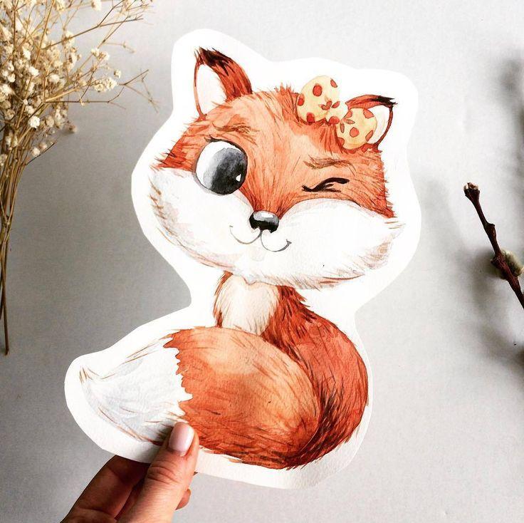 Уже почти пятница – намекает нам очаровательная лисичка от @yanetskaya_art. Публикуйте свои работы с тегом #miftvorchestvo, лучшие мы обязательно опубликуем!