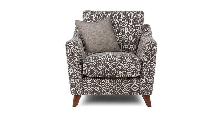 Spencer Pattern Armchair  | DFS