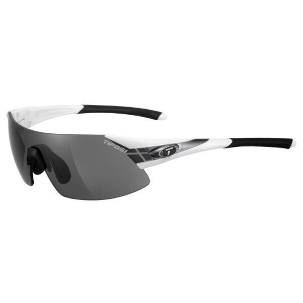 Tifosi Sunglasses - Podium XC White/Gunmetal Interchangeable... ($63) ❤ liked on Polyvore featuring accessories, eyewear, sunglasses, tifosi glasses, white sunglasses, gunmetal sunglasses, white glasses and tifosi eyewear