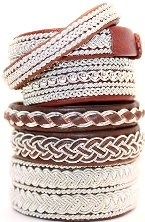Genuine leather bracelets from AC Design