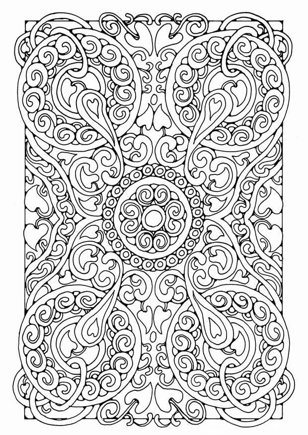 Ze Zentangle Coloring Pages For Adults Together With Cells Worksheet ...
