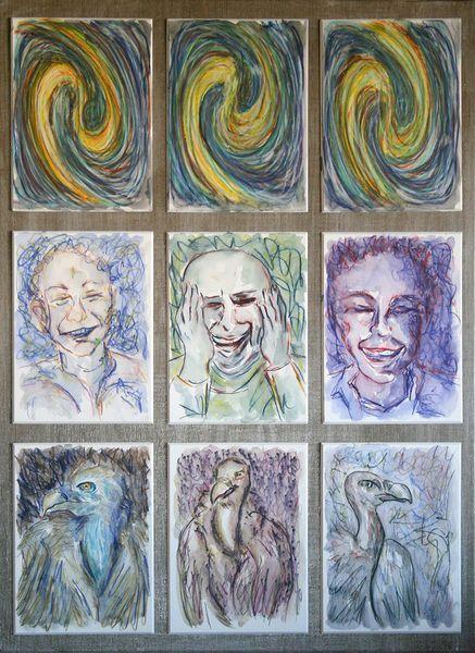'Inneres und Äußeres 4' von funkyzoo bei artflakes.com als Poster oder Kunstdruck $15.68