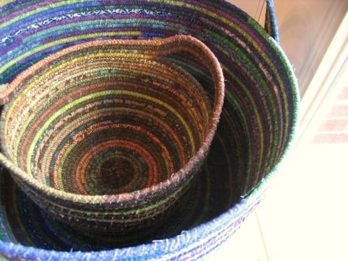 Fabric Baskets by tiffanyharvey, via Flickr