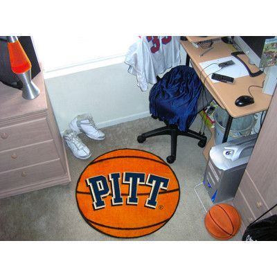 FANMATS NCAA University of Pittsburgh Basketball Mat