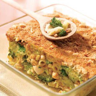 Gratin de pennes poulet brocolis l recette plat tipiak - Cuisiner des brocolis ...