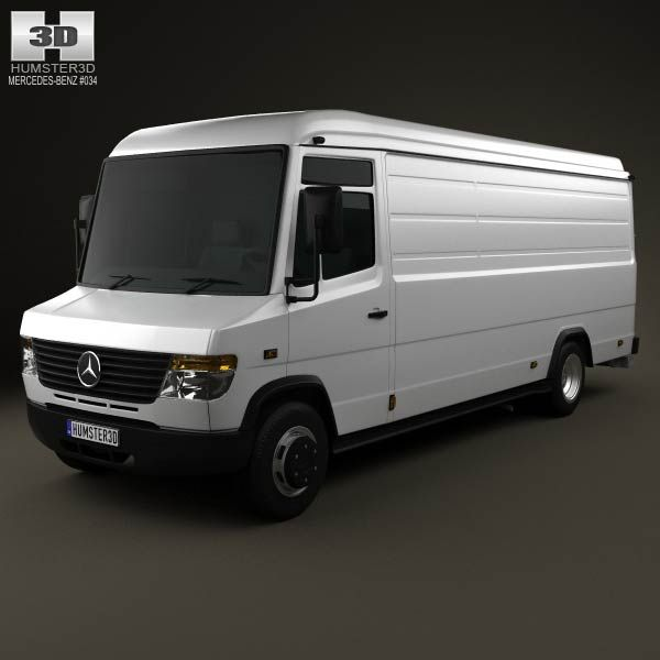 Mercedes-Benz Vario PanelVan LongWheelBase HighRoof 2011 3d model from humster3d.com. Price: $75