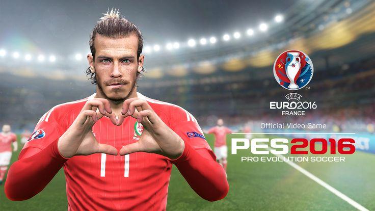 EURO2016 PES2016 Wales Gareth Bale HD Wallpaper
