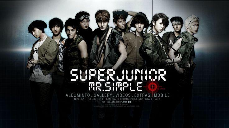 Super Junior  Mr. Simple #Leeteuk #Donghae #Yesung #Shindong #Kangin #Eunhyuk #Kyuhyun #Ryeowook #Siwon #Heechul #Sungmin #SUJU #SJ