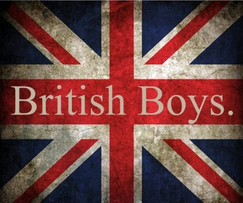 I'm convinced that I was meant to be with a British guy, which is why things have never worked out for me with American guys :) I'll meet you eventually, future British husband