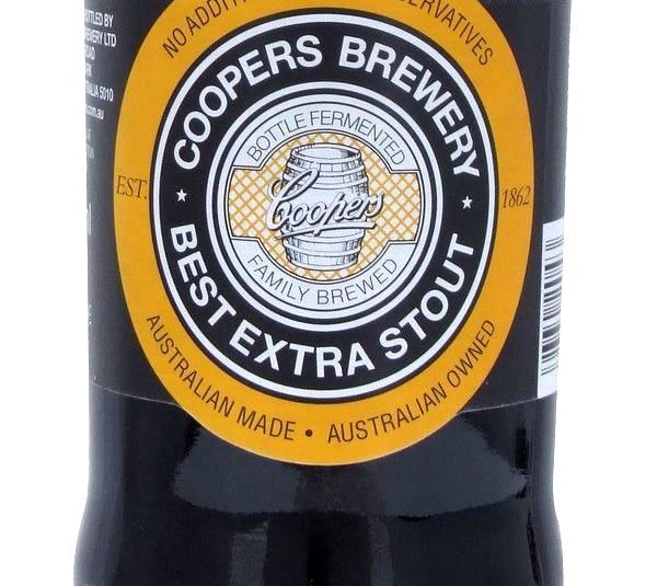 Coopers Best Extra Stout 375ml Beer in New Zealand - http://www.frenchbeer.co.nz/beer-from-france-in-nz/coopers-best-extra-stout-375ml-beer-in-new-zealand/ #French #Beer #nzbeer