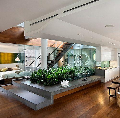 Beautiful Interior Landscape Design By Balmori Associates