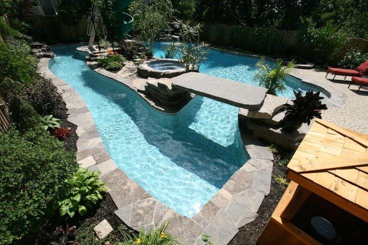 Illuminating Luxury Swimming Pools For The Yard Lazy River Pool Hinterhof Pool Hinterhof