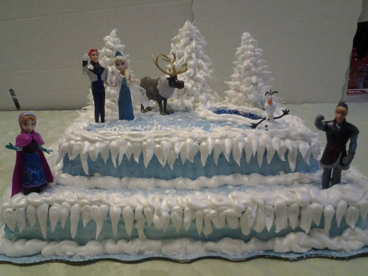 Disney Frozen cake design  Frozen Party ideas  Pinterest  Disney ...