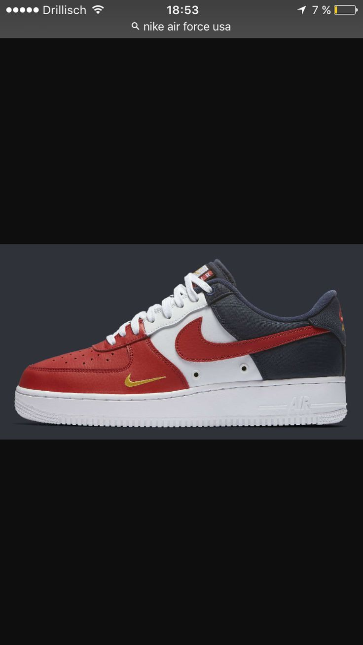 Nike air force low Indipendence day