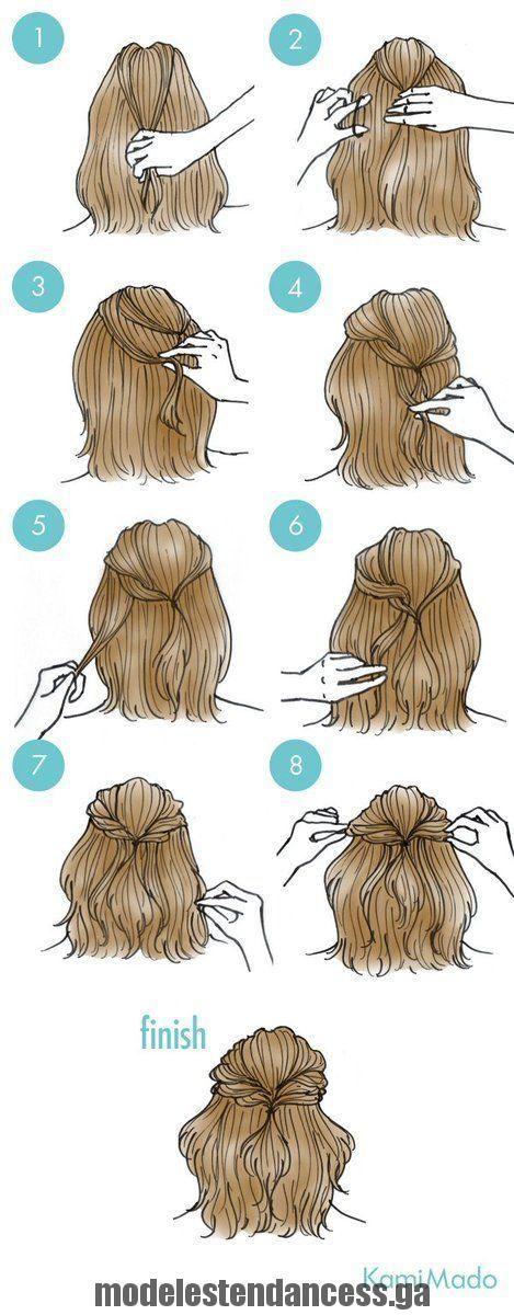 Holen Sie sich wunderschöne Haare mit diesen einfachen Step by Step Hair Tutorials,  #diesen #einfachen #haare #hair #holen #tutorials #wunderschone   – Kristi Richardson