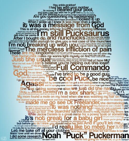 The many quotes of Noah Puckerman <3