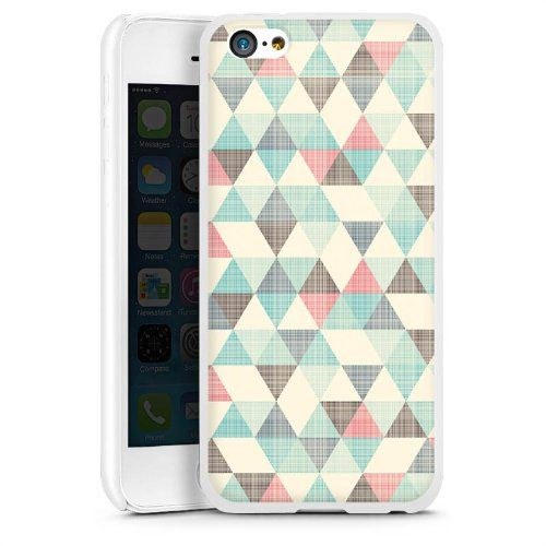 Coque dure Apple iPhone 5C HardCase white - Vintage Triangles DeinDesign http://www.amazon.fr/dp/B00JDMGMVC/ref=cm_sw_r_pi_dp_43cawb0ABVXW9