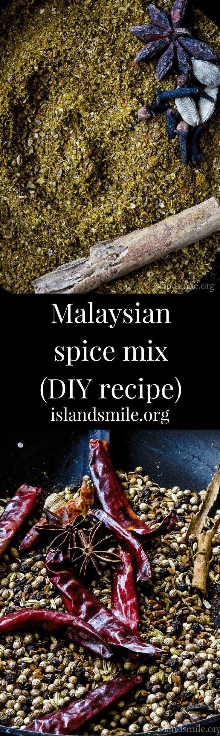Malaysian spice mix(DIY recipe)-islandsmile.org