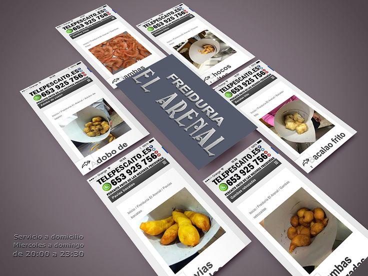 Productos de la tienda online de Freiduria El Arenal http://telepescaito.es/blog/categoria-producto/el-arenal #Sevilla #Pescaitofrito a domicilio