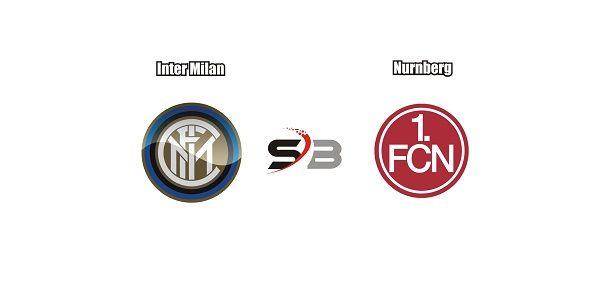 Prediksi Bola Inter Milan vs Nurnberg pada pertandingan Club Friendlies, antara dimana tim Inter Milan akan bertemu dengan tim Nurnberg. Sabtu 22:30 (09/07/2017) yang bertempat di Stadion Netral    Menjelang pertandingan Club Friendlies, Inter Milan tampil tidak cukup memuaskan dalam limapertandingan terakhirnya dari lima laga tersebut Inter Milan hanya mendapat dua kali hasil menang dan sudah