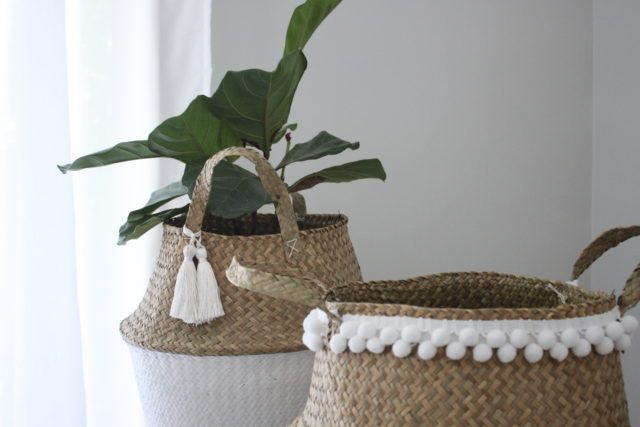 Kmart hack: 2 ways to pimp your belly basket - The Interiors Addict