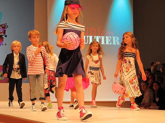 Luna kid's fashion show  @ Kind+Jugend 2012  #kidsfashion  #junior #gaultier  #spring2013