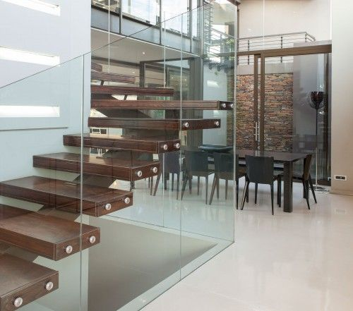 floating staircase design big modern house | stair / lift ...