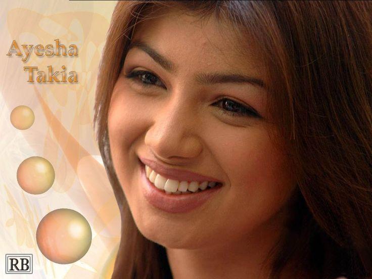 Ayesha Takia Cute Smile