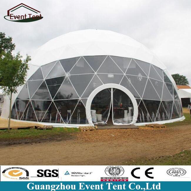 Outdoor Multipurpose PVC Cover Metal Frame 4 Season Garden Igloo Tent For Sale