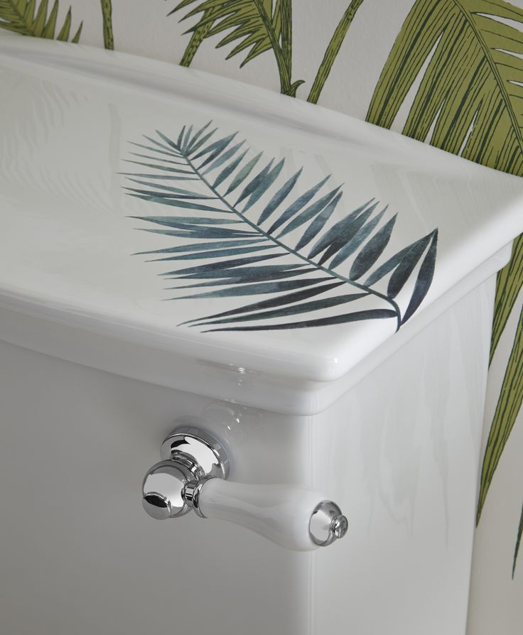 Heritage Bathrooms 30th Anniversary Ali Munro Limited Edition Palm Springs Design WC