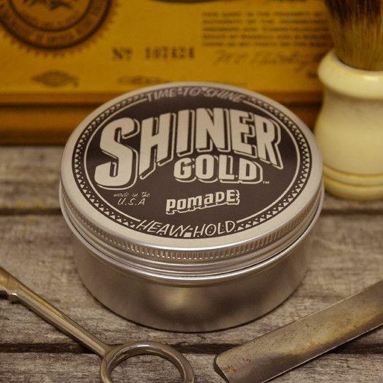 Shiner Gold Pomade - Medium Hold Water Based Hair Pomade – Pomade.com - One Stop Pomade Shop