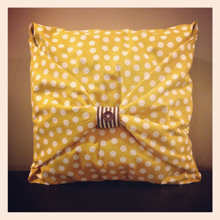 no sew pillow covers & 47 best No-sew Pillow love images on Pinterest | No sew pillows ... pillowsntoast.com