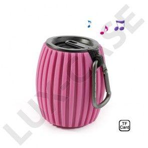 Hand Grenade (Pink) trådløs Bluetooth højtaler m/ Mic