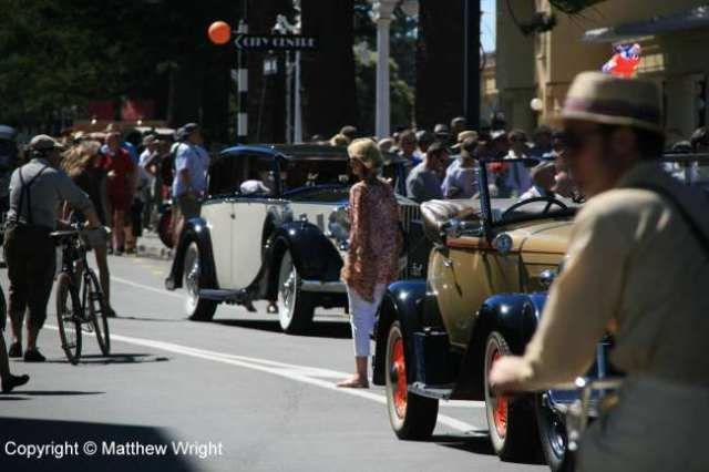 Art Deco weekend, Napier, New Zealand, February 2014.