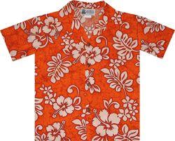 Neon Paradise Boys' Hawaiian Shirt