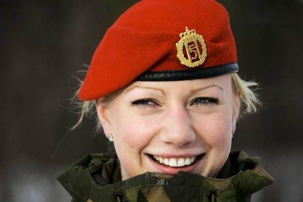 Norveç Ordusunun Kadın Askerleri