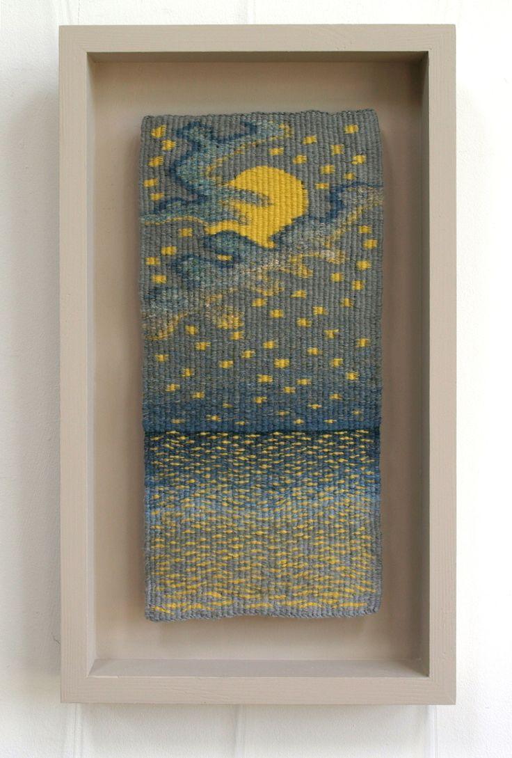 069 - Milky Moon - Louise Oppenheimer Tapestry