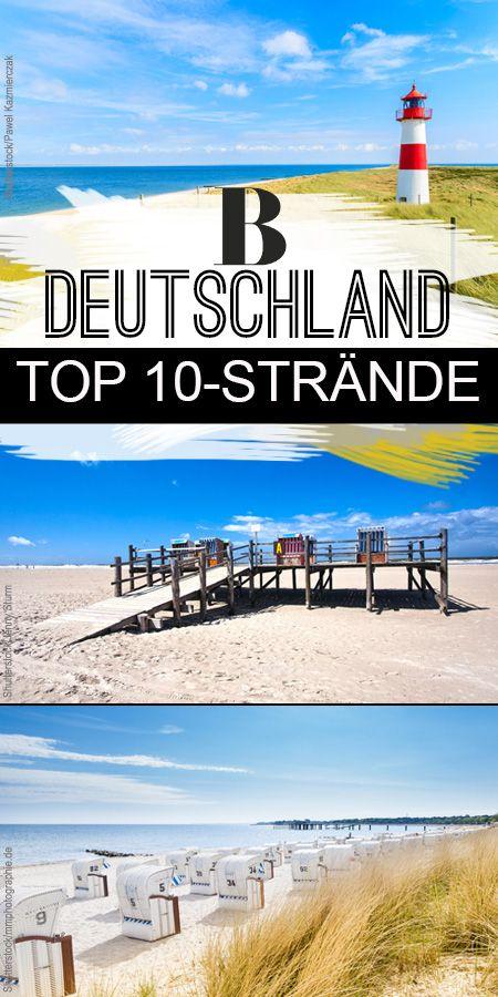 Auf ans Meer! Die 10 schönsten Strände in Deutschland. Man muss nicht ins Flugzeug steigen, um sich an schönen Stränden zu vergnügen. Wir setzen uns ins Auto oder in den Zug - und fahren ans Meer! In der Lübecker Bucht, auf Sankt Peter Ording, auf Helgoland, sogar in Hamburg kann man herrlich am Meer entspannen.