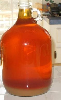 Homemade Peach Wine