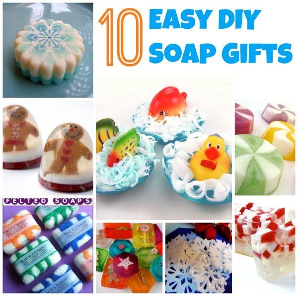 10 DIY Soap Gift Ideas