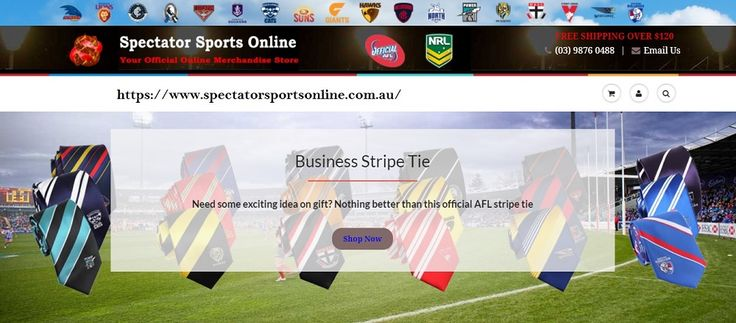 Visit Spectator Sports Online for a comprehensive selection of official AFL and NRL merchandise for all your favorite teams. Click here for more.