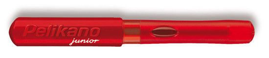 Pelikan Pelikano Junior Kid Red - Left Handed Med Pt Fountain Pen
