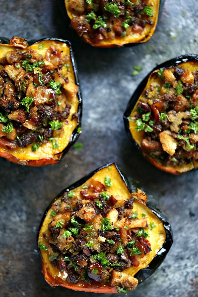 This Stuffed Acorn Squash Recipe Is Easy To Make And Packed With