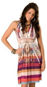 Katydid Ladies Purple, Orange and Blue Aztec Racer Back Sleeveless Dress: Westerns Cowgirls, Summer Dresses, Women Westerns, Awesome Clothing, Lady Dresses, Lady Westerns, Westerns Dresses, Aztec, Cowgirls Dresses