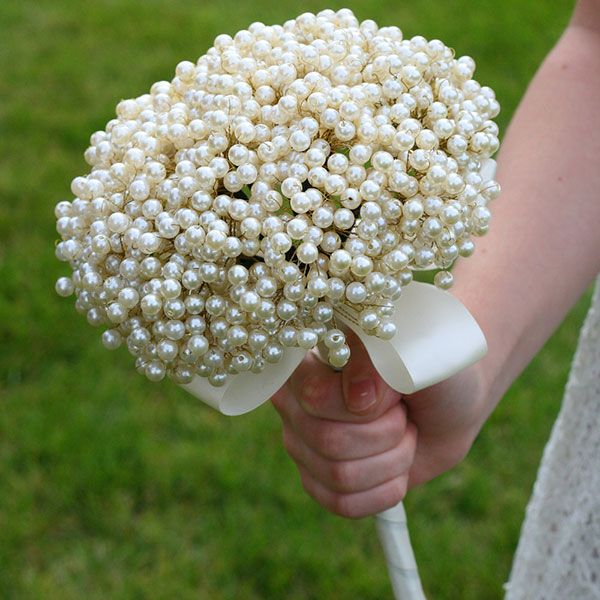 Winter wedding bouquets non floral bouquets wedding for Bridal flower bouquets ideas