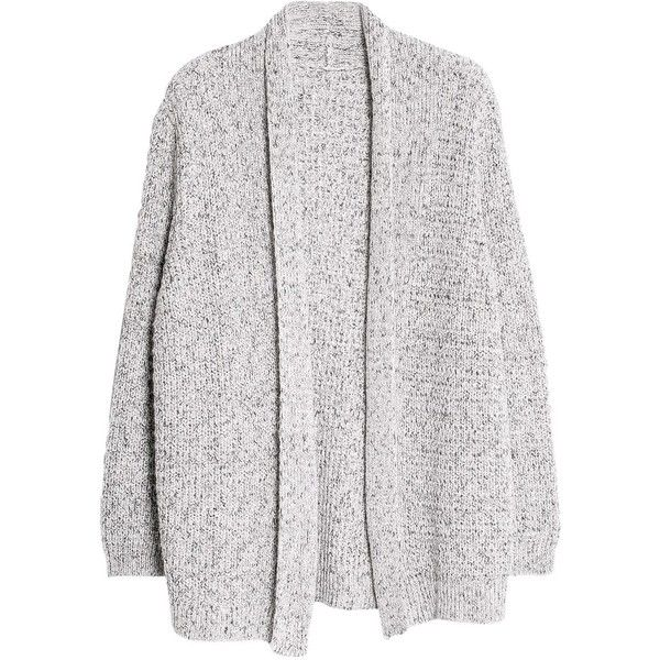 Violeta by Mango Metallic Cardigan ($53) ❤ liked on Polyvore featuring tops, cardigans, outerwear, jackets, plus size long sleeve tops, embellished cardigan, plus size white cardigan, slouchy cardigan and long sleeve open front cardigan
