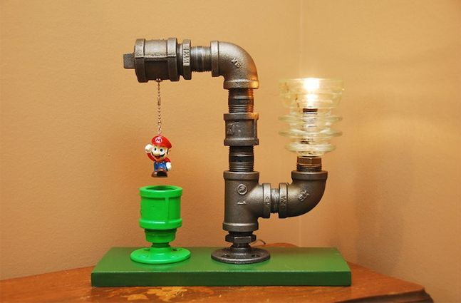 Industrial Theme Pipe Lamps