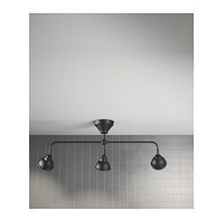VITEMÖLLA Triple ceiling spotlight, metal - - - IKEA