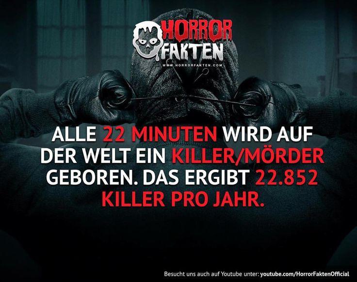 ❝Vielleicht steckt auch ein Killer in dir..❞ #horrorfakten #horror #fakten